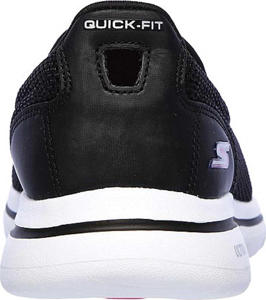 Women's Skechers GOwalk 5 Walking Shoe, Black/Hot Pink, large, image 4