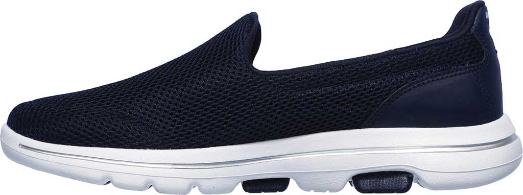 Women's Skechers GOwalk 5 Walking Shoe, Navy/White, large, image 3