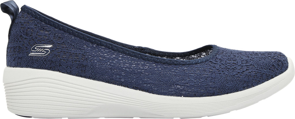 Women's Skechers Arya Airy Days Skimmer, Navy, large, image 2