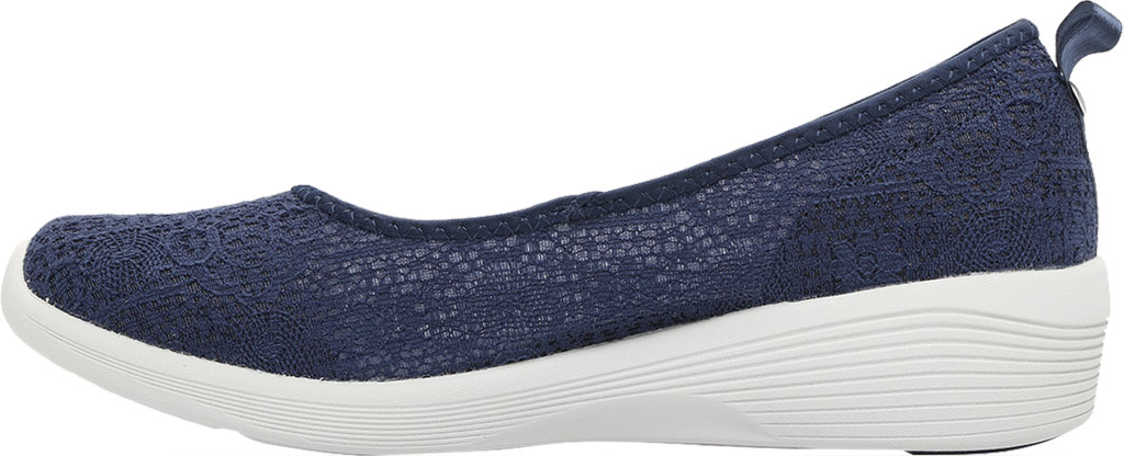 Women's Skechers Arya Airy Days Skimmer, Navy, large, image 3
