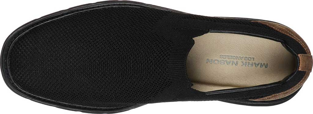 Men's Mark Nason Los Angeles Lite Lugg Woods Slip-On, Black/Black, large, image 5