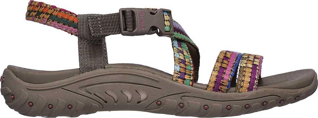 Women's Skechers Reggae Sew Me Active Sandal, Taupe/Multi, large, image 2
