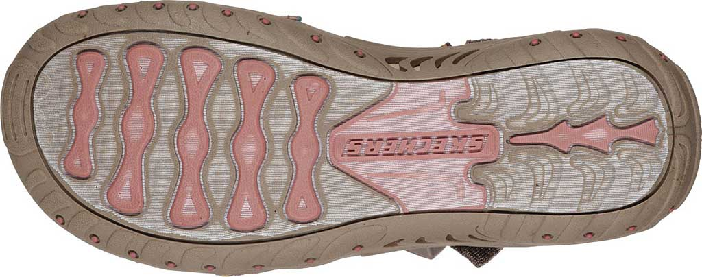 Women's Skechers Reggae Sew Me Active Sandal, Taupe/Multi, large, image 6