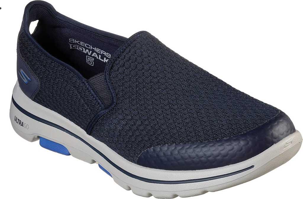 Men's Skechers GOwalk 5 Apprize Slip On Sneaker, Navy, large, image 1
