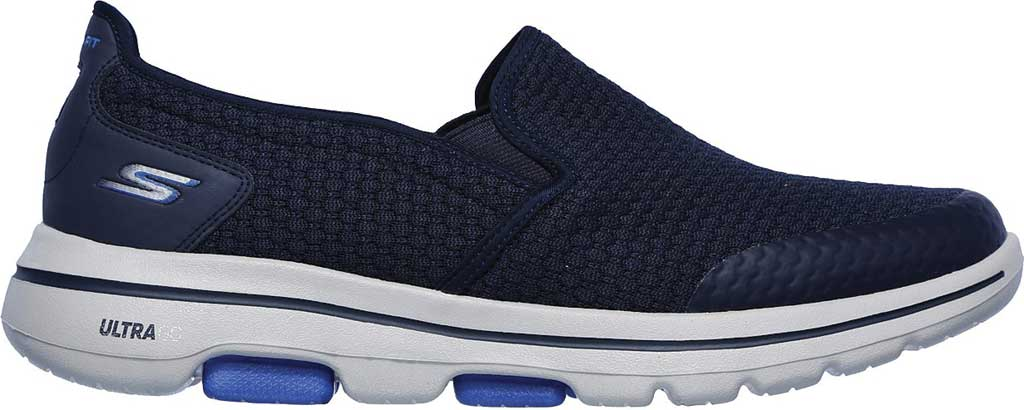 Men's Skechers GOwalk 5 Apprize Slip On Sneaker, Navy, large, image 2