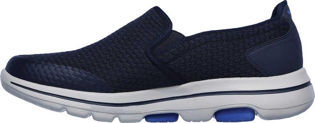 Men's Skechers GOwalk 5 Apprize Slip On Sneaker, Navy, large, image 3