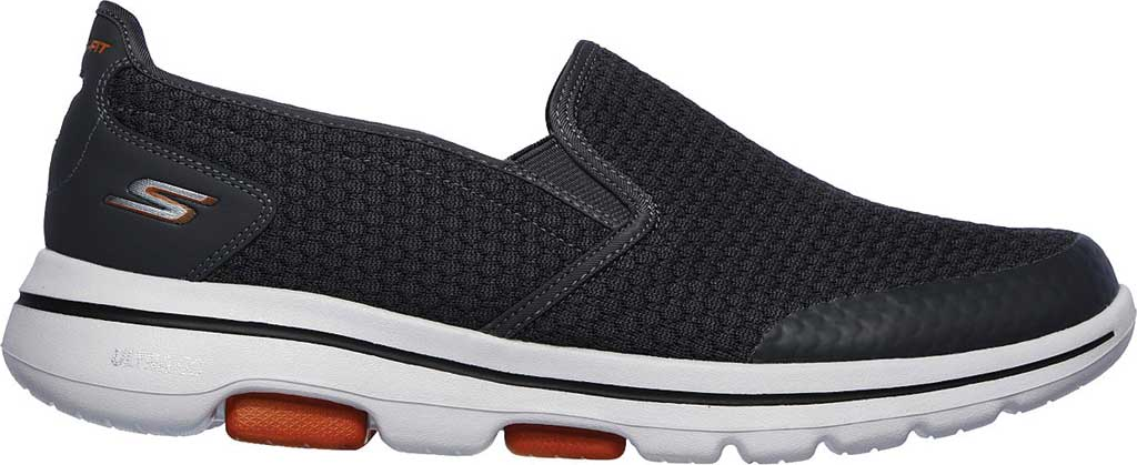 Men's Skechers GOwalk 5 Apprize Slip On Sneaker, Charcoal, large, image 2