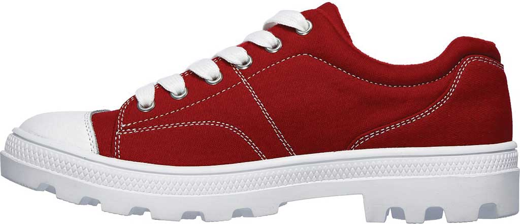 Women's Skechers Roadies True Roots Sneaker, Red, large, image 3
