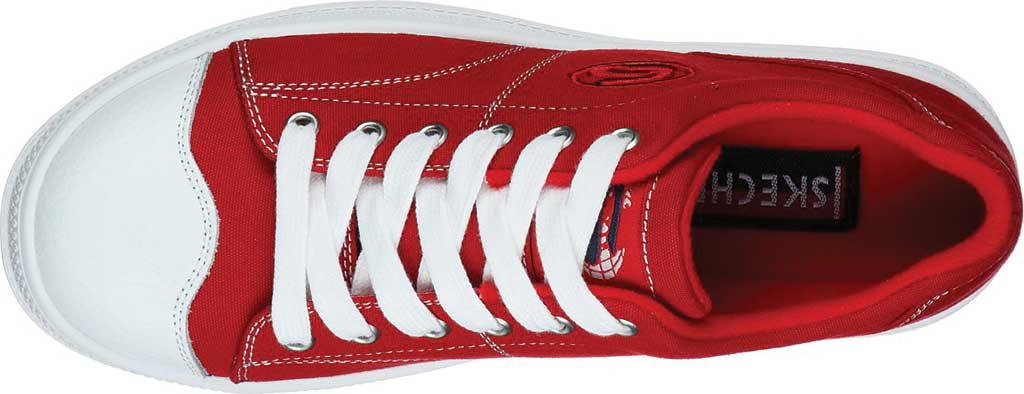 Women's Skechers Roadies True Roots Sneaker, Red, large, image 5