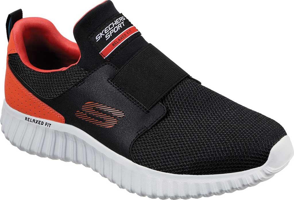 Men's Skechers Depth Charge 2.0 Slip-On Sneaker, Black/Orange, large, image 1