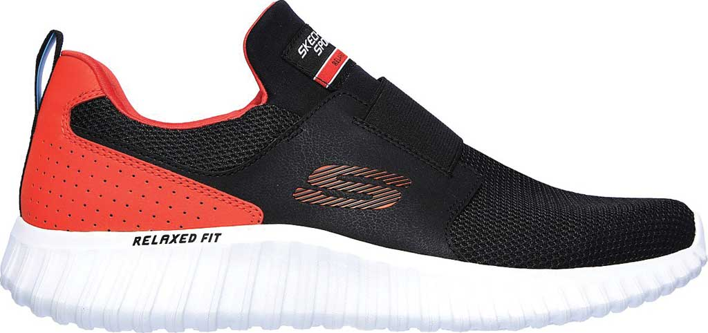 Men's Skechers Depth Charge 2.0 Slip-On Sneaker, Black/Orange, large, image 2