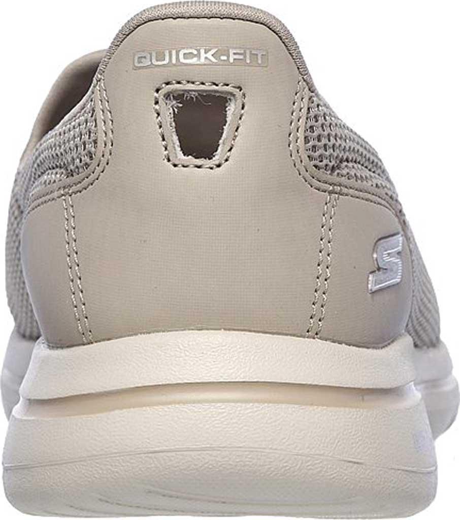 Women's Skechers GOwalk 5 Slip-On, Taupe, large, image 4
