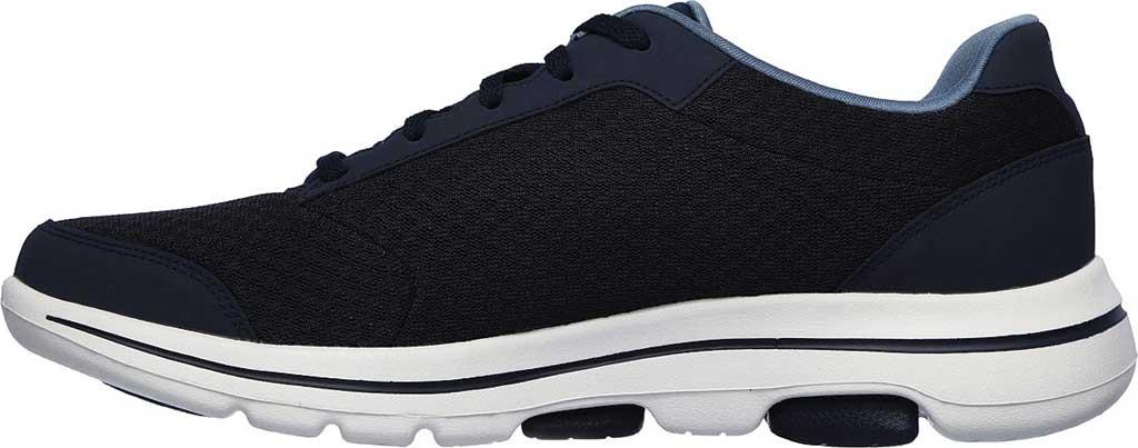 Men's Skechers GOwalk 5 Qualify Walking Sneaker, Navy, large, image 3