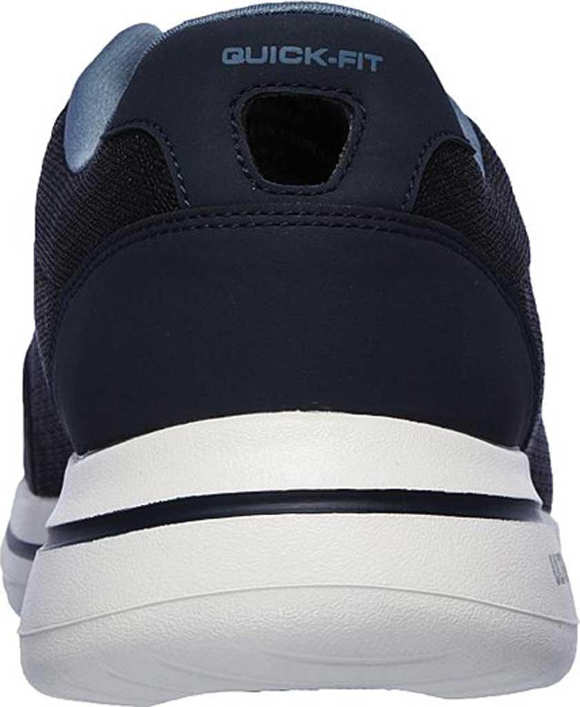 Men's Skechers GOwalk 5 Qualify Walking Sneaker, Navy, large, image 4