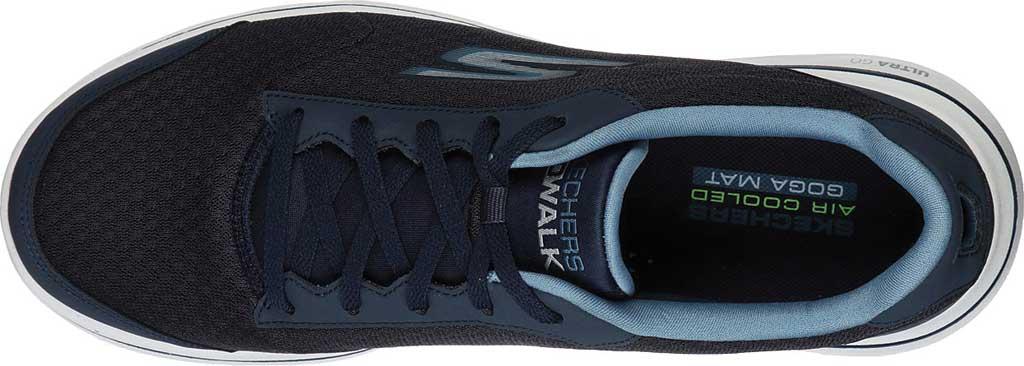 Men's Skechers GOwalk 5 Qualify Walking Sneaker, Navy, large, image 5