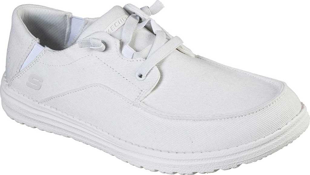 Men's Skechers Melson Volgo Sneaker, White, large, image 1