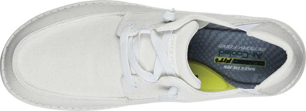 Men's Skechers Melson Volgo Sneaker, White, large, image 4