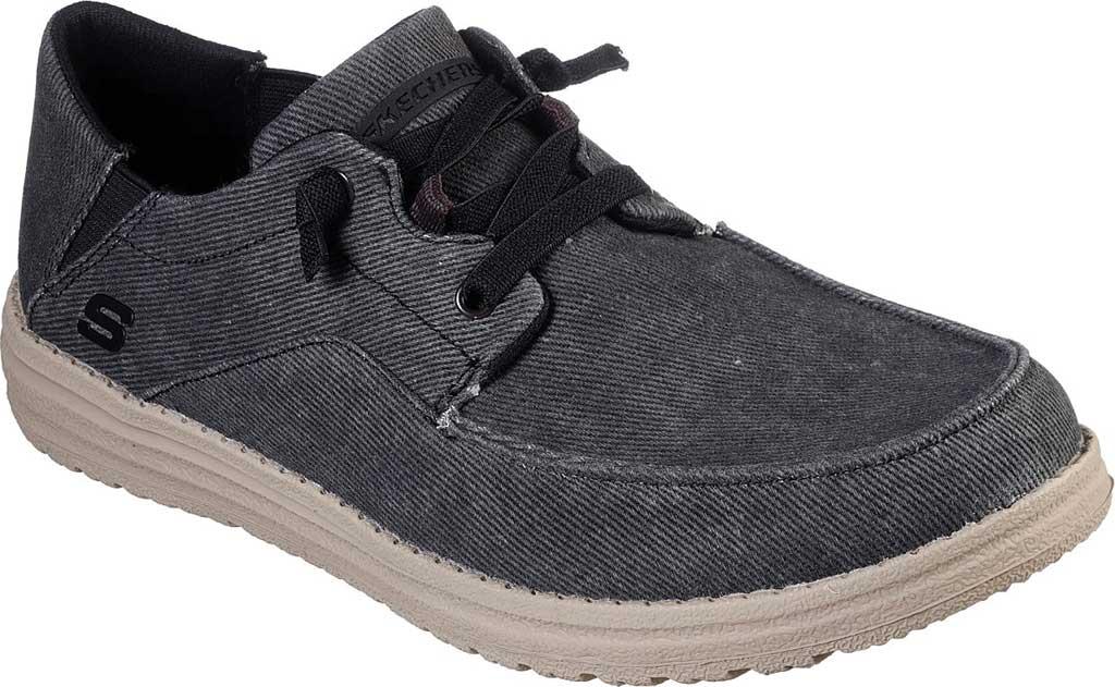 Men's Skechers Melson Volgo Sneaker, Black, large, image 1