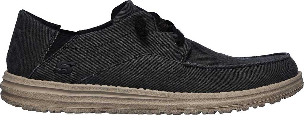 Men's Skechers Melson Volgo Sneaker, Black, large, image 2
