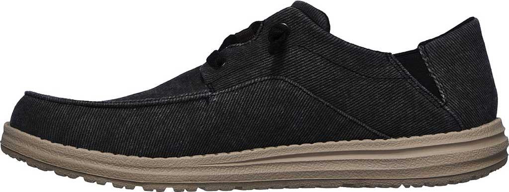 Men's Skechers Melson Volgo Sneaker, Black, large, image 3