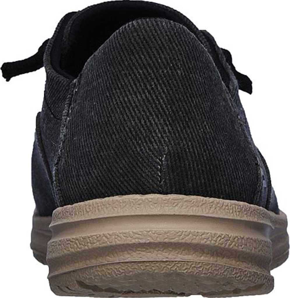 Men's Skechers Melson Volgo Sneaker, Black, large, image 4