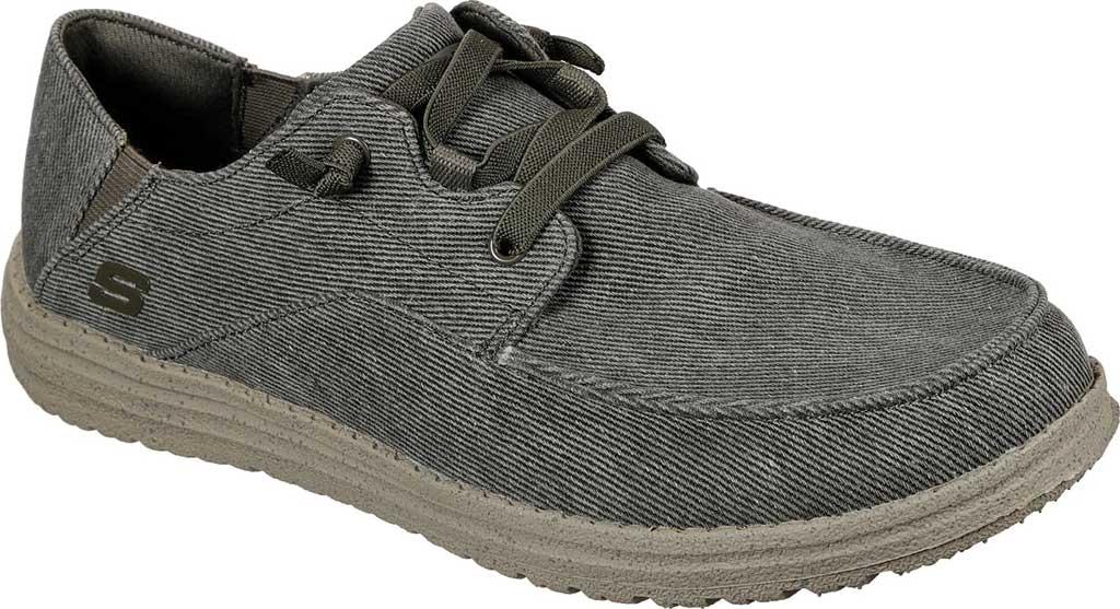 Men's Skechers Melson Volgo Sneaker, Olive, large, image 1
