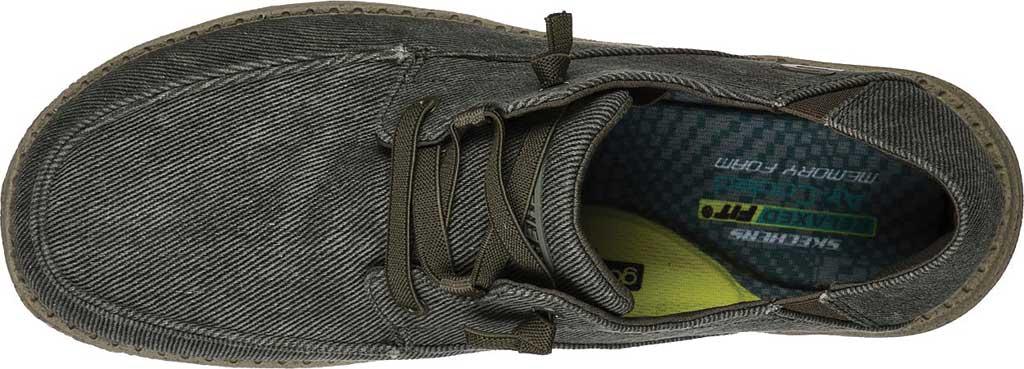 Men's Skechers Melson Volgo Sneaker, Olive, large, image 4