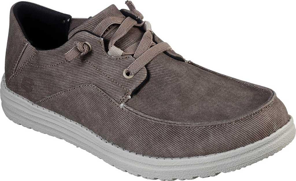Men's Skechers Melson Volgo Sneaker, Brown, large, image 1