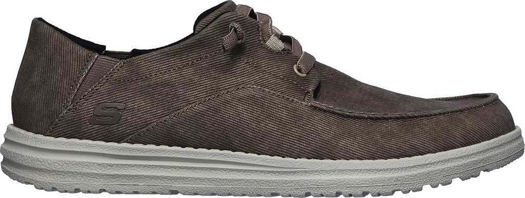 Men's Skechers Melson Volgo Sneaker, Brown, large, image 2