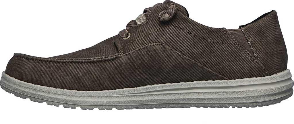 Men's Skechers Melson Volgo Sneaker, Brown, large, image 3