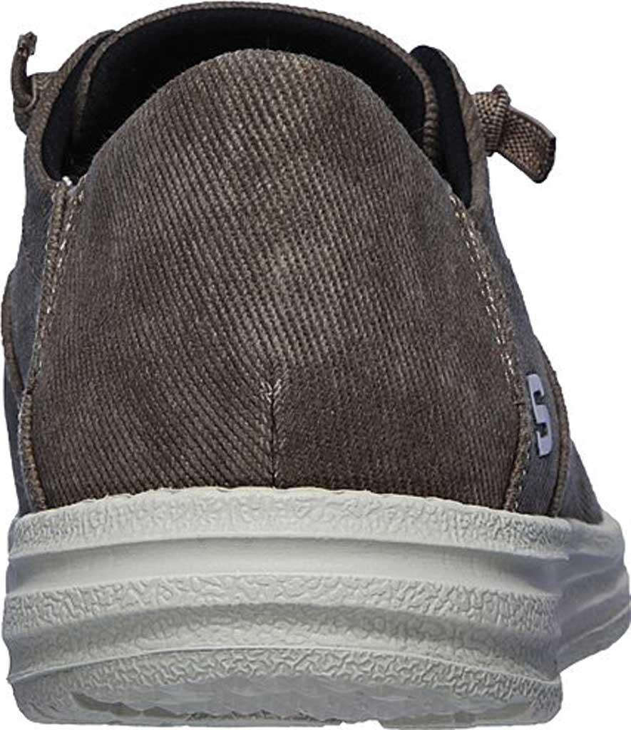 Men's Skechers Melson Volgo Sneaker, Brown, large, image 4