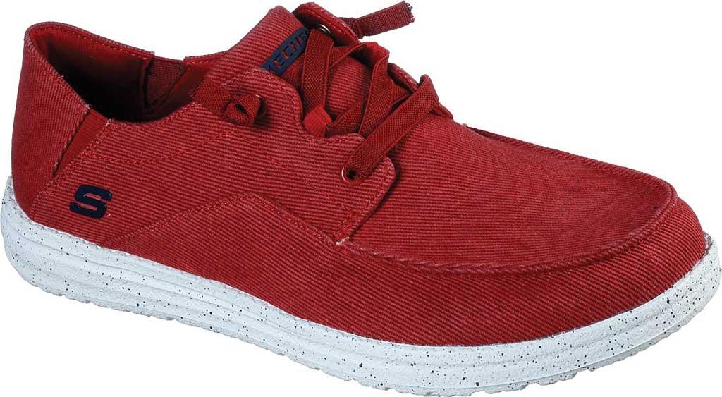 Men's Skechers Melson Volgo Sneaker, Red, large, image 1