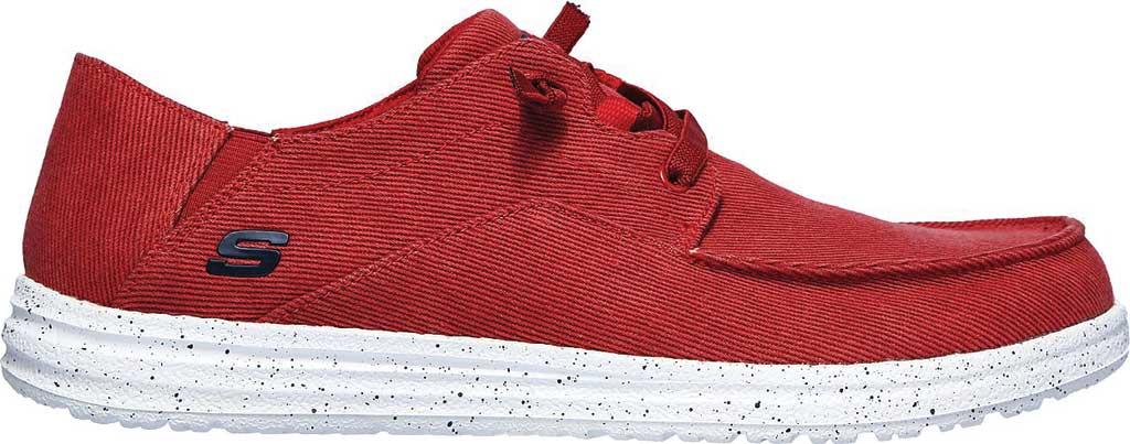 Men's Skechers Melson Volgo Sneaker, Red, large, image 2