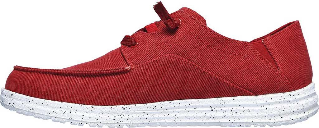 Men's Skechers Melson Volgo Sneaker, Red, large, image 3