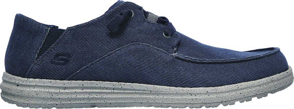Men's Skechers Melson Volgo Sneaker, Navy/Gray, large, image 2