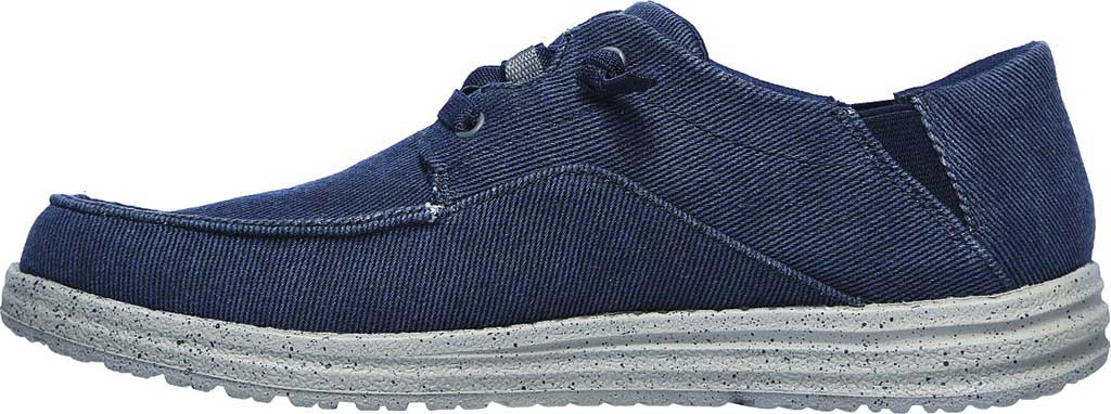 Men's Skechers Melson Volgo Sneaker, Navy/Gray, large, image 3