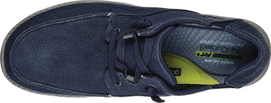 Men's Skechers Melson Volgo Sneaker, Navy/Gray, large, image 4
