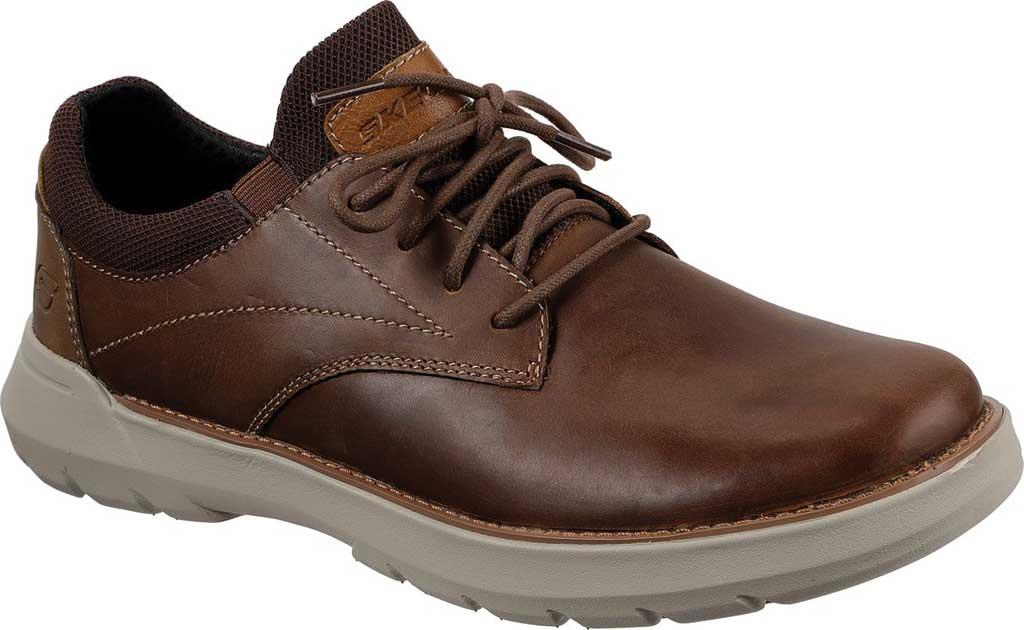 Men's Skechers Relaxed Fit Doveno Vander Sneaker, Dark Brown, large, image 1