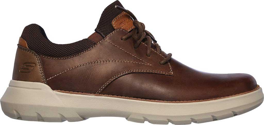 Men's Skechers Relaxed Fit Doveno Vander Sneaker, Dark Brown, large, image 2