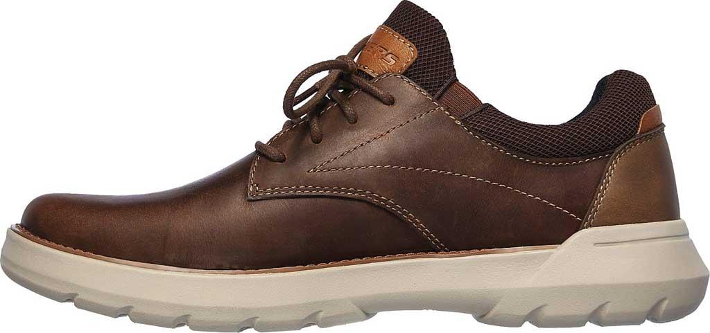 Men's Skechers Relaxed Fit Doveno Vander Sneaker, Dark Brown, large, image 3