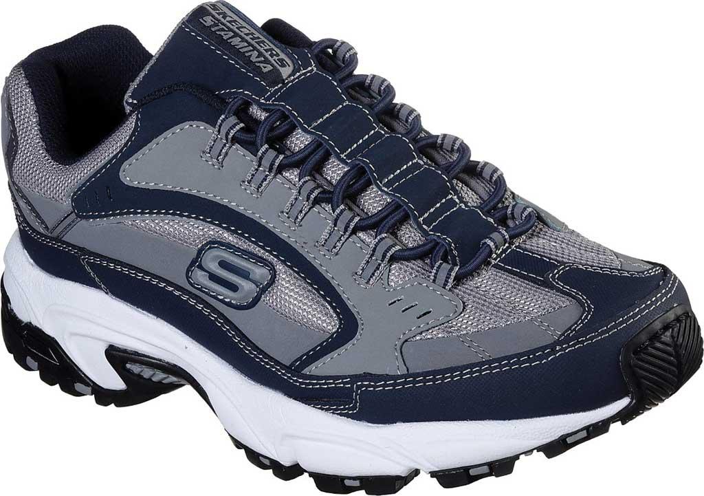 Men's Skechers Stamina Woodmer Sneaker, , large, image 1