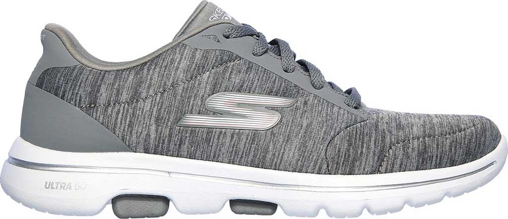 Women's Skechers GOwalk 5 True Sneaker, Gray, large, image 2