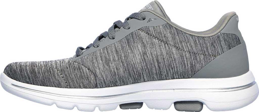 Women's Skechers GOwalk 5 True Sneaker, Gray, large, image 3