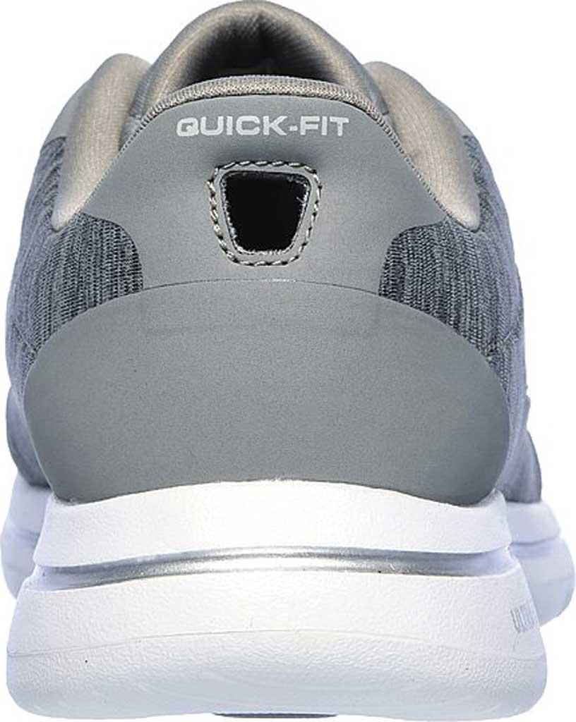 Women's Skechers GOwalk 5 True Sneaker, Gray, large, image 4