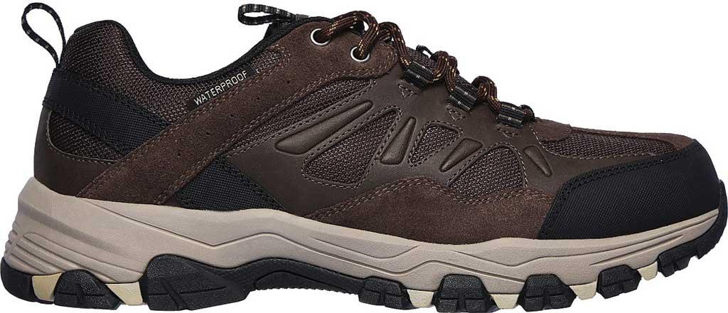 Men's Skechers Relaxed Fit Selmen Enago Hiking Shoe, Chocolate, large, image 2