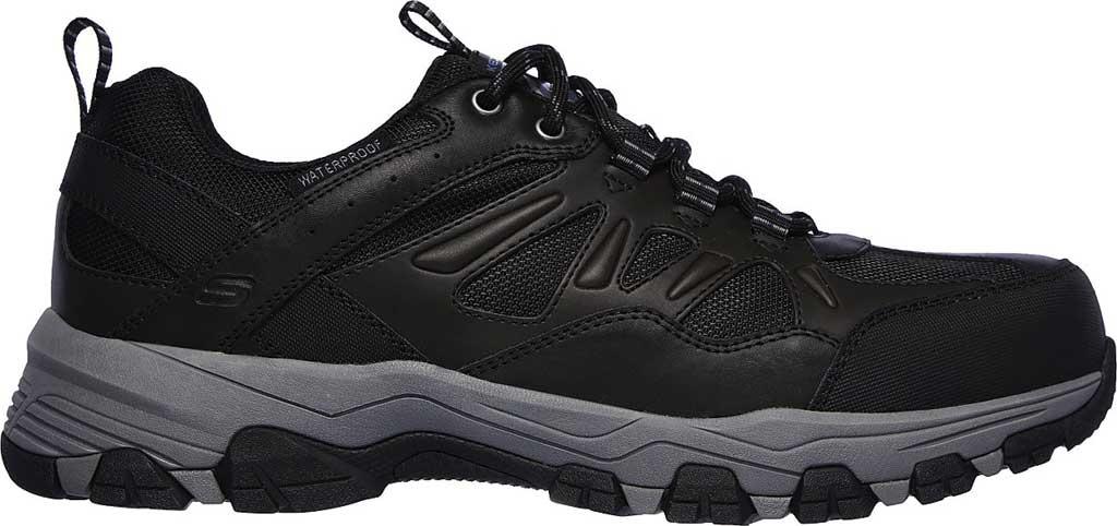 Men's Skechers Relaxed Fit Selmen Enago Hiking Shoe, Black, large, image 2