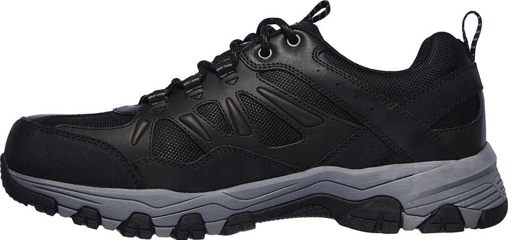 Men's Skechers Relaxed Fit Selmen Enago Hiking Shoe, Black, large, image 3