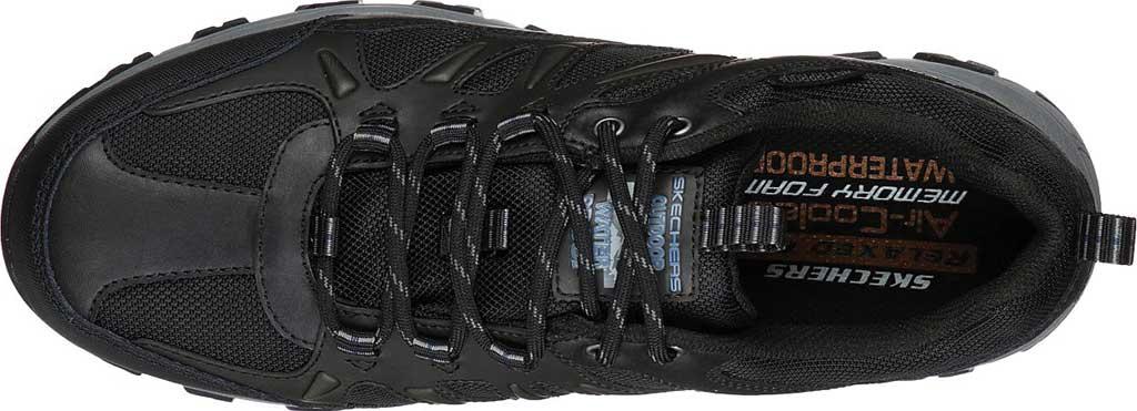 Men's Skechers Relaxed Fit Selmen Enago Hiking Shoe, Black, large, image 4