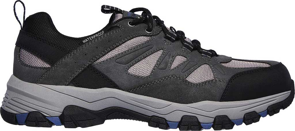 Men's Skechers Relaxed Fit Selmen Enago Hiking Shoe, Gray, large, image 2