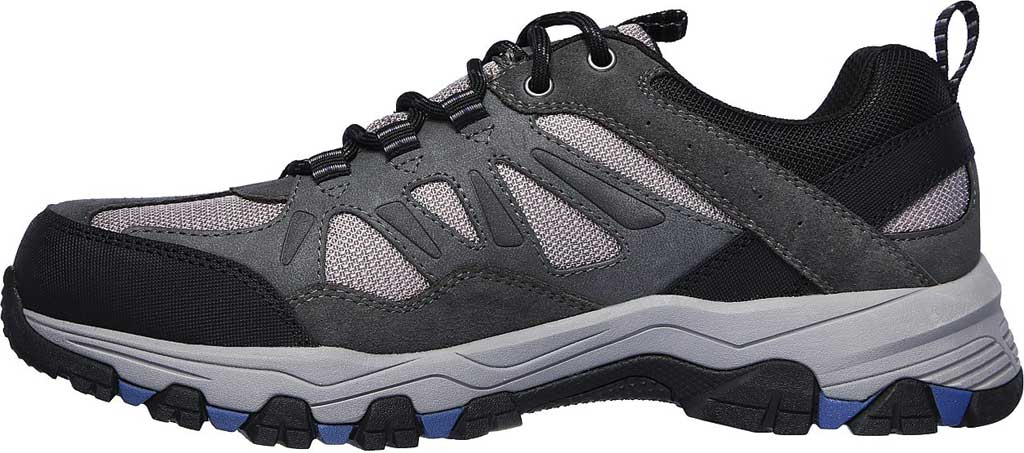 Men's Skechers Relaxed Fit Selmen Enago Hiking Shoe, Gray, large, image 3